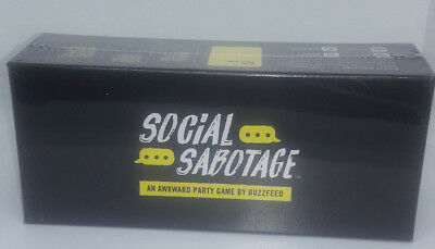 Adult Party Game Social Media Sabotage Awkward Cards Smartphone BuzzFeed