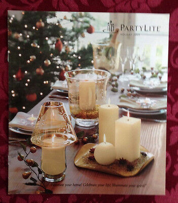 PartyLite 2005 Fall Holiday Halloween Christmas Catalog Retired Book Consultant