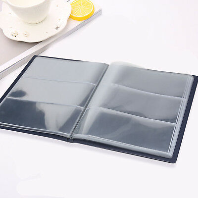 Leather Notes Album Folder Banknote Paper Money Storage Collection Stamps Book