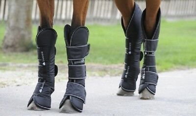 %SOMMERSALE: BUCAS Transportgamaschen FREEDOM Boots schwarz Gr. PONY, WB o.VB-NH