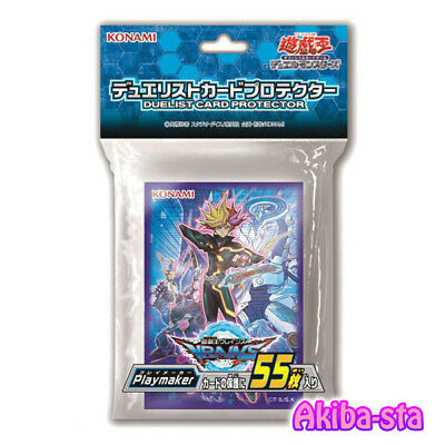 Yugioh Japanese Duel Monsters Duelist Card Sleeve Playmaker 55ct Konami Official