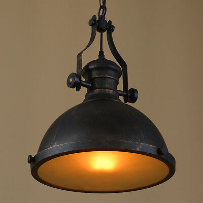 Kitchen Fitting Metal Rustic Industrial Style Hanging Pendant Chandelier Light