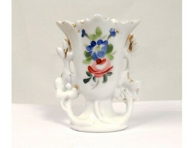 Petit vase porcelaine de Paris Napoléon III antique french XIXème