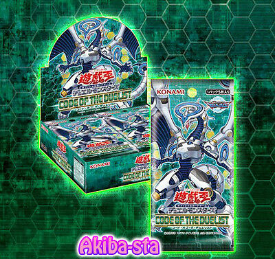 Yugioh Japanese CODE OF THE DUELIST Booster Box Konami Sealed!! COTD