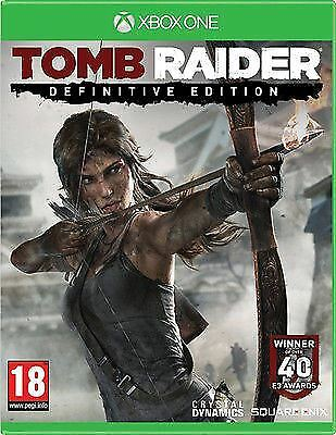 Tomb Raider Definitive Edition Xbox One Game - Brand New And Sealed
