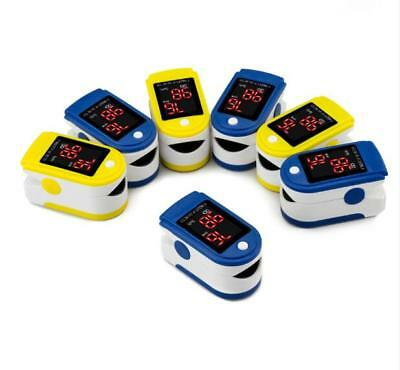 Pulse Oximeter Monitor OLED Fingertip SPO2 Rate HeartBeat Monitor Blood Oxygen