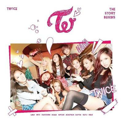 Twice-[The Story Begins] 1st Mini Album CD+Booklet+Galand+PhotoCard+Gift K-POP
