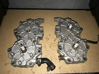 85hp88hp90hp110hp115hp  Johnson/Evinrude Outboard Cylinder Heads Set (pair) V4