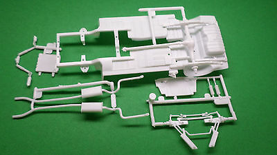 1966 Mustang 1/24 Carrol Shelby GT 350H Hertz Frame Axle Chassis Rear End Model