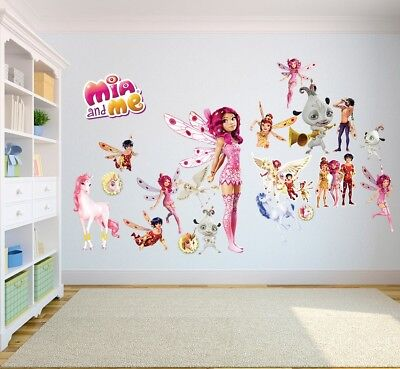Mia And Me Wall Stickers Kids Bedroom Children Decor Decal