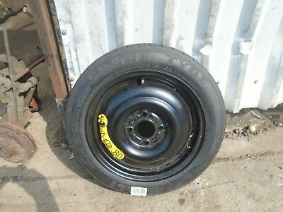 """Ford Fiesta 2002 To 2017 Space Saver Spare 15"""" Wheel With Tyre 125/80/15"""