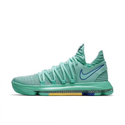 b9f774a63277 Nike Men Zoom KD10 X EP Basketball Shoe Kevin Durant Green 897816-300 US7-