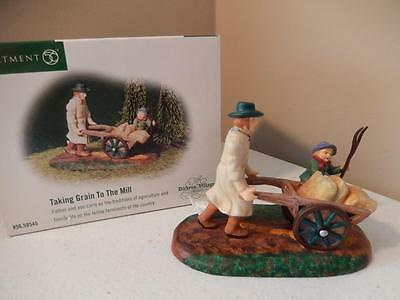 Department 56 - Taking Grain To The Mill #56.58545 (Free Shipping)