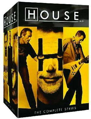 House The Complete Series (DVD, 2012, 41-Disc Set) NEW!