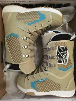 Rome Sds Smith Snowboard Boots Authentic