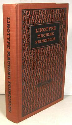 Linotype Machine Principles, Mergenthaler Linotype, 1940