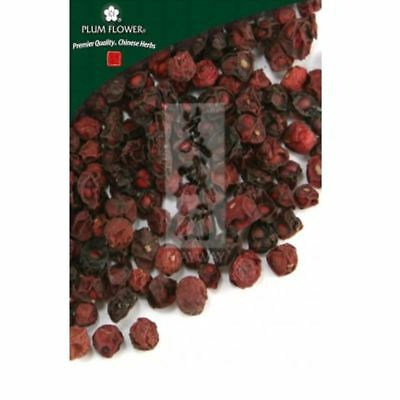 Plum Flower Schisandra Berry Whole Wu Wei Zi Schisandra Chinensis 1.1 lb. (500g)
