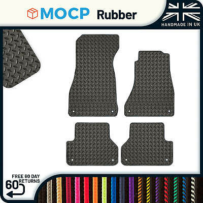 Custom Rubber Car Mats to fit Audi A4 B9 Phase 1 2016-2019