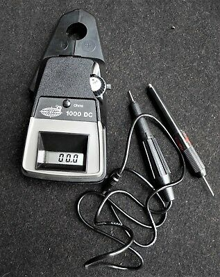 CRS-EVANS 1000 DC Digital Clamp-on Connectionless Ammeter Complete kit.work's