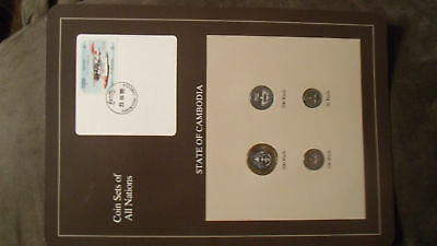 Coin Sets of All Nations Cambodia 1994 UNC Plane stamp Pacemaker