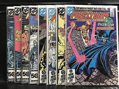 Lot of 8 Fury of Firestorm #32 33 34 35 36 37 38 39 (1982 DC) Shipping Deal!