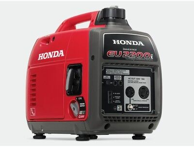 Honda 2200-Watt Super Quiet Gasoline Powered Portable Companion Inverter with