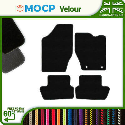 Custom Velour Car Mats to fit Peugeot 307 2 Clips 2001-2008