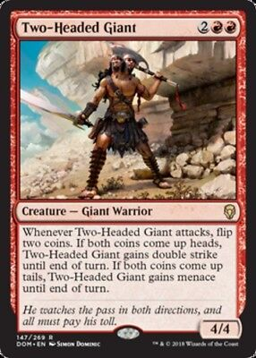 *4x Two-Headed Giant - Foil* Dominaria MTG DeadGuyGames