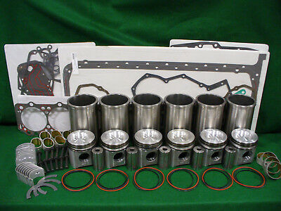 RP305 International Navistar DT360 Inframe Overhaul Engine Rebuild Kit WITH ROD MAIN BEARINGS