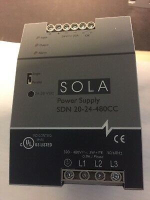 ***new*** Sola/heavy-Duty Sdn20-24-480Cc Dc Power Supply *no Box*