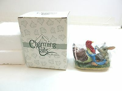 Charming Tails By Fitz And Floyd ~ Turkey With Dressing 85/412