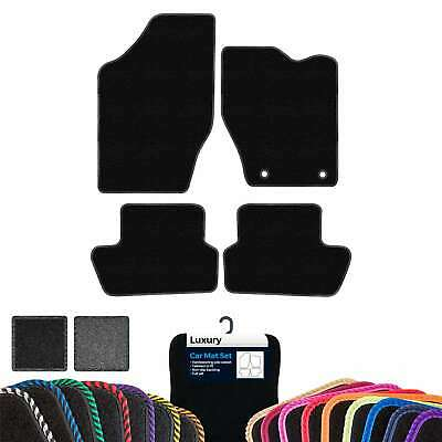 Custom Luxury Car Mats to fit Peugeot 307 2 Clips 2001-2008