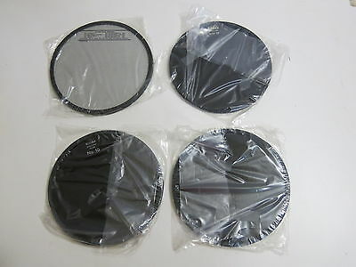 """Lot Of 4 New Kodak Safelight 5 1/2"""" Filters No 10, No 10, Series 0A And Dupont S"""