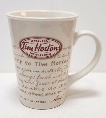 Tim Horton Coffee 009 Limited Edition Every cup tells a story…always! Mug/Cup