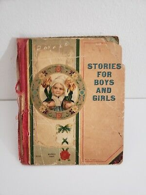Antique Vintage Stories for Boys and Girls (1900) McLoughlin Bros