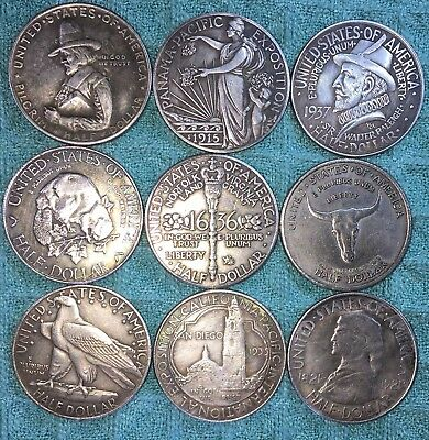 #12 State Commemorative Half dollars,Fantasy coins, Novelty Coin's, made China