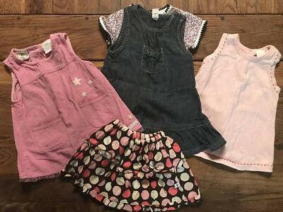 Lot Of Cute Baby Clothes Dresses For Girl Newborn & 6-9 Months Lightly Used