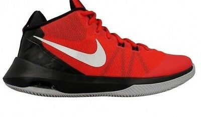 96df03a4b672 Mens Nike Air Versitile Basketball Shoes Size 8 - 12 Red Black Grey 852431  600