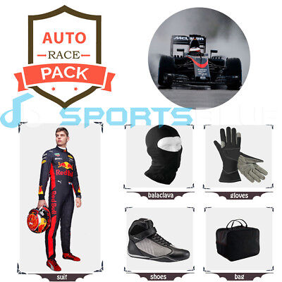 Redbull 2018 Go Kart suit (includes suit, gloves, balaclava) free bag - CIK/FIA