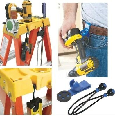 WERNER TL-2BC Tool Lasso(TM) with Belt Clip and 3 bungees New! Ladder Safety!