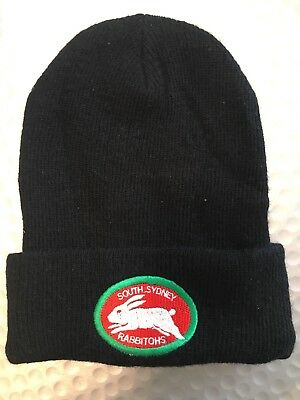 Near New Rabbitohs Beanie Hat Winter Football