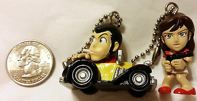 TWO LUPIN KEY CHAINS-from Japan-ship free