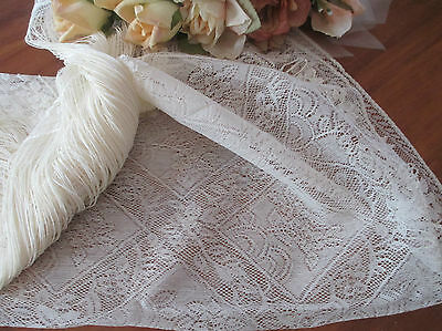 """Gorgeous """"chantilly"""" Heritage Lace Curtain Panel"""
