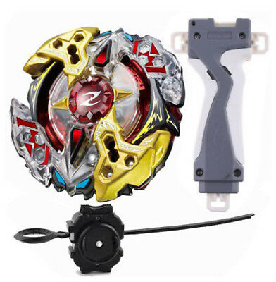Beyblade Burst B-90 Starter Booster Galaxy Zeus Launcher + Grip USA Seller