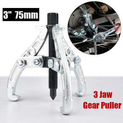 """3"""" 75mm Gear / Hub Bearing Puller 3 Jaw Reversible Fly Wheel Pulley Remover Tool"""