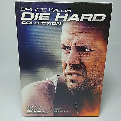Bruce Willis Die Hard Collection 4-Disc Set DVD 2007, Bilingual Canada Release