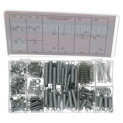 Assorted Spring Set Compression and Extension Tension Springs 200pc