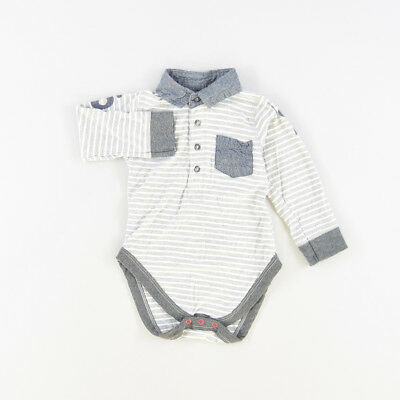 Polo body color Gris marca Early days 9 Meses  509015