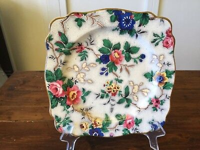 Vintage Crown Ducal All over Floral Plate (2)