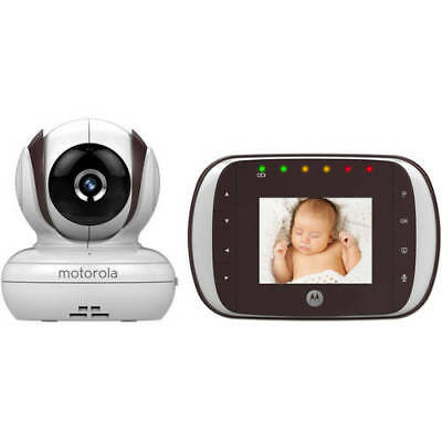 "Motorola MBP35S 2.8"" Digital Video 2.4GHz Baby Monitor, White/Gray"